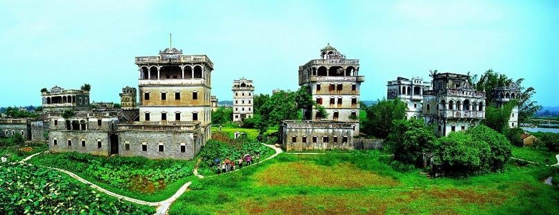 Дяолоу – это многоэтажные дома-крепости, изображение №1
