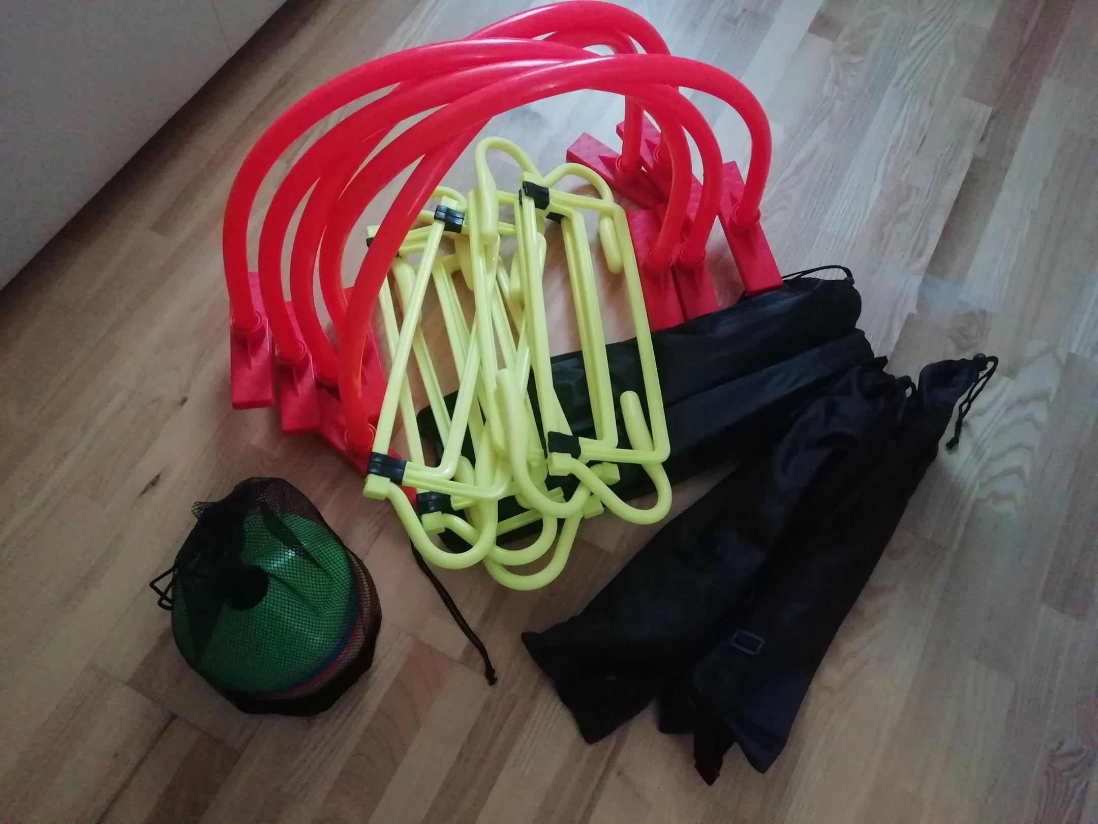 Большой выбор тренировочного инвентаря в наличии. Где купить футбольный инвентарь в Самаре?