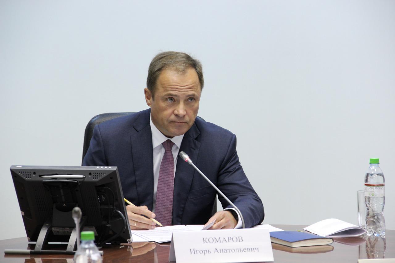 Игорь Комаров: «серьезных происшествий и проблем в работе избиркомов не наблюдалось»