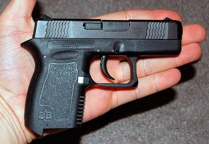 Пистолет Diamondback DB 380, США, изображение №4