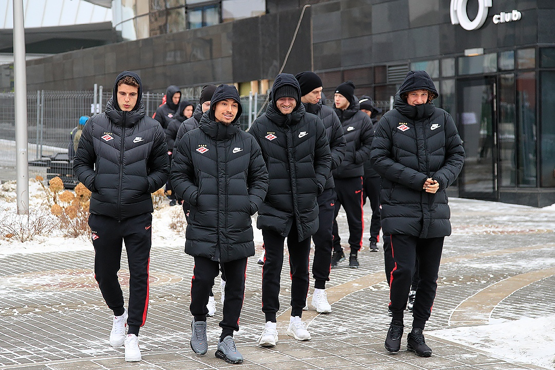 «Спартак» прогулялся по Екатеринбургу
