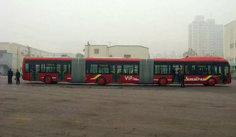 Самые длинные автобусы на Земле, изображение №7
