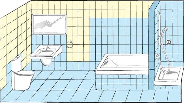 Гидроизоляция ванной: варианты, схемы, особенности, изображение №2
