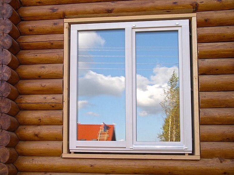 Пластиковые окна для деревянных коттеджей, изображение №7