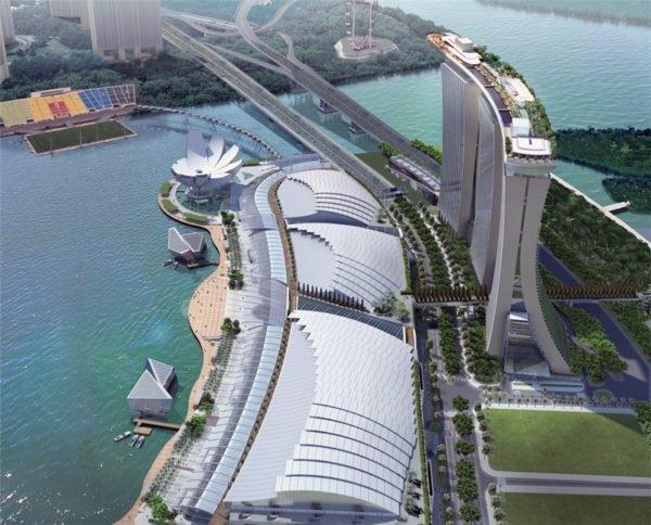 Уникальный отель Marina Bay Sands в Сингапуре., изображение №4
