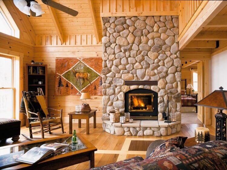 Использование натурального камня в дизайне домов, изображение №5
